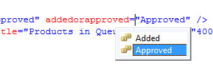 Intellisense options